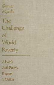 Cover of: The challenge of world poverty