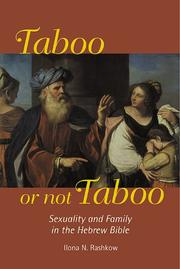 Cover of: Taboo or not taboo