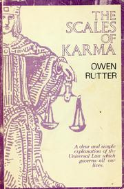 Cover of: The scales of karma