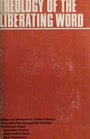 Cover of: Theology of the liberating word
