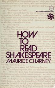 Cover of: How to read Shakespeare
