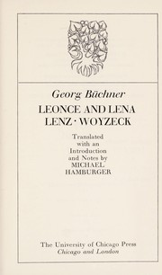 Cover of: Leonce and Lena