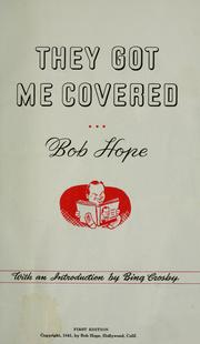 Cover of: They got me covered
