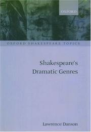 Cover of: Shakespeare's dramatic genres