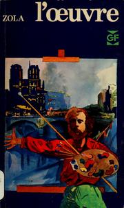 Cover of: L' œuvre