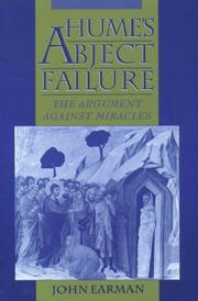 Cover of: Hume's abject failure
