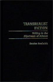 Cover of: Transrealist fiction