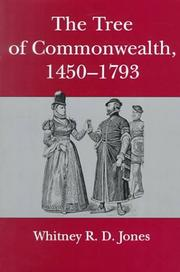 Cover of: The tree of commonwealth, 1450-1793