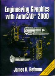 Cover of: Engineering graphics with AutoCAD 2000