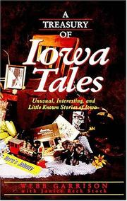 Cover of: A treasury of Iowa tales