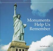 Cover of: Monuments help us remember