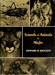 Cover of: Sounds of animals at night