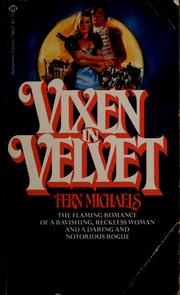 Cover of: Vixen in Velvet