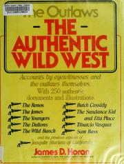Cover of: The Authentic Wild West: The Outlaws