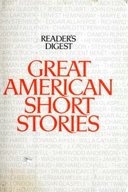 Cover of: Great American Short Stories