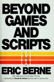 Cover of: Beyond games and scripts