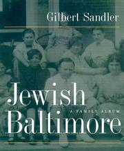 Cover of: Jewish Baltimore