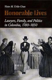 Cover of: Honorable lives