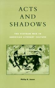 Cover of: Acts and shadows