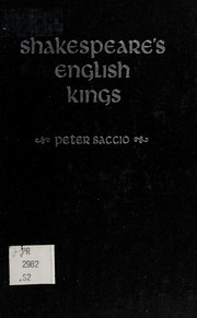 Cover of: Shakespeare's English kings
