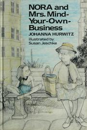 Cover of: Nora and Mrs. Mind-Your-Own-Business