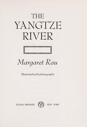 Cover of: The Yangtze River
