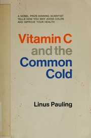 Cover of: Vitamin C and the common cold