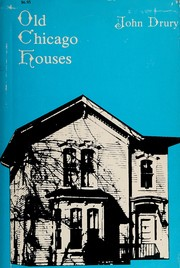 Cover of: Old Chicago houses