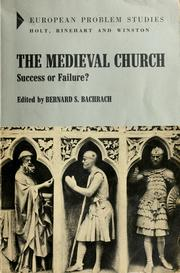 Cover of: The medieval church: success or failure?