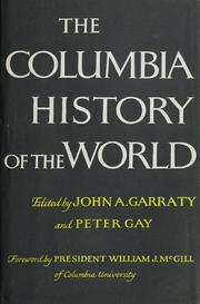 Cover of: The Columbia history of the world