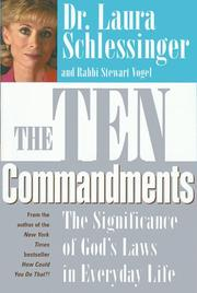 Cover of: The Ten commandments: the significance of God's laws in everyday life