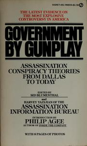 Cover of: Government by gunplay
