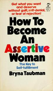 Cover of: How to become an assertive woman