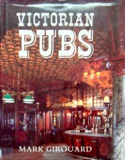 Cover of: Victorian pubs