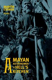Cover of: A Mayan astronomer in Hell's Kitchen