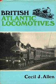 Cover of: British Atlantic locomotives