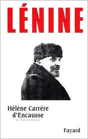 Cover of: Lénine