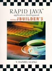 Cover of: Rapid Java application development using JBuilder 3