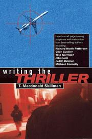 Cover of: Writing the thriller