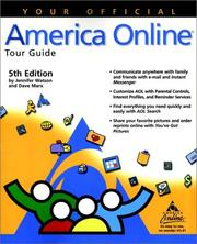 Cover of: Your official America Online tour guide