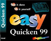 Cover of: Easy Quicken Deluxe 99