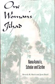 Cover of: One woman's Jihad