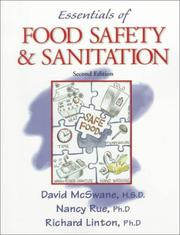 Cover of: Essentials of food safety and sanitation