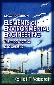 Cover of: Elements of environmental engineering