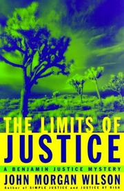 Cover of: The limits of justice: a Benjamin Justice mystery