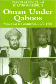Cover of: Oman under Qaboos