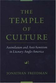 Cover of: The temple of culture