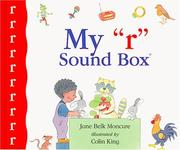 "Cover of: My ""r"" sound box: Sound Box Library Series"