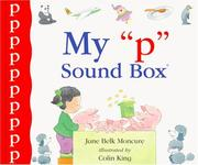 "Cover of: My ""p"" sound box: Sound Box Library Series"