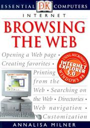 Cover of: Browsing the web